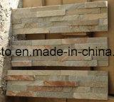 Pietra naturale poco costosa della coltura dell'ardesia del rivestimento della parete da vendere