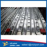 Decking en acier galvanisé d'échafaudage en métal avec le brevet
