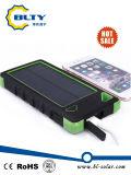 Chargeur solaire 6000mAh Dual USB Powerbank avec éclairage LED