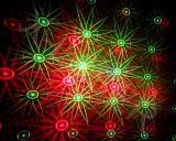 Red&Green que move oito luzes do laser /Outdoor do jardim de flor/a luz/Natal ao ar livre do jardim modela luzes
