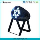 12 * 10W RGBW 4-en-1 LED de luz de la etapa del partido (F 460)