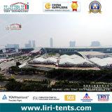 Grande tente d'exposition pour le commerce international juste