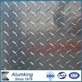 1100 het in reliëf gemaakte Blad van het Aluminium voor de Platen van het Loopvlak