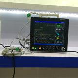 De hete Verkoop kwalificeerde Geduldige Monitor van de Multiparameter van het Grote Scherm hoog de Draagbare