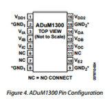 3배 채널 통신로 디지털 절연체 IC Adum1300arwz의 직접 회로
