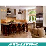 Mobília durável do gabinete de cozinha da madeira contínua (AIS-K126)