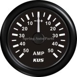 52mm Ammeter ampère Gauge +/-50A 12V 24V con Backlight