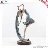 Tipo caráteres de Europa do dançarino do artesanato da resina