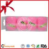 Kundenspezifisches Farbband-Ei mit freiem Plastikkasten für Weihnachten