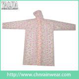 Напечатанный ЕВА Rainwear женщин плащей девушок малышей Yj-6202