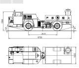 Подземные взрывчатки Gpi-5 поручая тележку