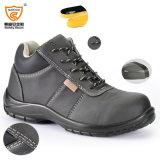 Инженерства стальной плиты пальца ноги Saicou ботинки безопасности Sc-6573 полесья стального работая