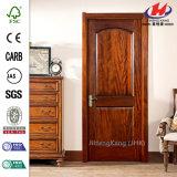 Porta interior laminada de madeira do folheado da boa qualidade (JHK-002)