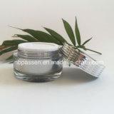 Frasco 50g de creme acrílico de prata popular para o empacotamento do cosmético (PPC-NEW-131)