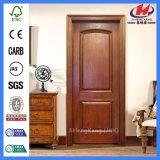 Экологическая Non-Покрашенная нутряная деревянная кожа двери меламина (JHK-MN08)