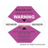 Schlag-Anzeiger-Kennsatz für WARNING und Überwachung im Versand