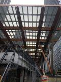 Coefficente di scambio di calore del vetro di vetro di vetro d'isolamento della costruzione della parete di vetro della costruzione