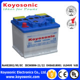12V 44ah secam a bateria automotriz acidificada ao chumbo cobrada da bateria de carro