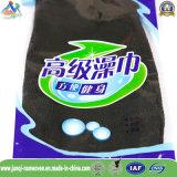 Черная Exfoliating Nonwoven перчатка ванны с Марокко