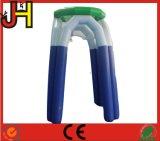 L'aria ha sigillato il cerchio di pallacanestro gonfiabile della tela incatramata del PVC di 0.6mm da vendere