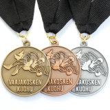 カスタマイズされた3D亜鉛合金の骨董品の金の銀の銅の終わりの名誉のロシアの記念品のスポーツメダル