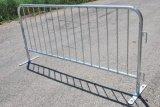 Barrera del control de muchedumbre de la carretera de la barandilla de la exposición del puente del pie de Aluninum nueva