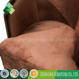 Cadeira do sofá da cadeira da parte traseira redonda do estilo do vintage única para a venda
