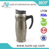 Tasse de l'eau de thermos de contact doux avec le traitement antidérapant (MSAD)