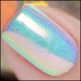 Pigmento cambiante de la perla de la aurora del polaco de clavo del color múltiple del camaleón