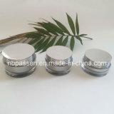 Frasco cosmético acrílico de prata de g da chegada nova 20/30/50 (PPC-NEW-126)