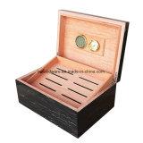 Коробка ремесленничества сигары отделки рояля деревянная