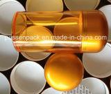 Bernsteinfarbige Einspritzung-Haustier-Medizin-Flasche für das Fisch-Öl-Verpacken (PPC-PETM-017)