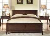 Amerikanisches Village Style Double Bed Made durch Solid Wood (M-X1159)