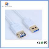 USB 2.0女性のジャックの延長コードの導線ケーブルへの男性プラグ