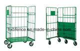 Mensola pieghevole del magazzino, gabbia di memoria, pallet del rullo, carrello logistico