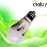 Bulbo leitoso do diodo emissor de luz da iluminação do globo do diodo emissor de luz da lâmpada do bulbo do Ce da tampa do PC de E26/E27/B22 SMD2835 Aluminum+ & do globo de RoHS 3W