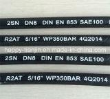 Buis van Hoge druk 853 SAE100 van DIN de Engelse R2 Hydraulische Rubber