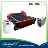 Placa de acero y tubos de plasma CNC máquina de corte (IGP1530)