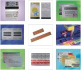Tarjeta Prepagada Prensa y Máquina de Etiquetado