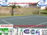 De Bevloering van de Sport van het Hof van het Basketbal van het gymnasium