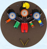 Apparatuur hD-Tsn001 van het Spel van de Speelplaats van de Dia van de Kinderen van de school de Openlucht