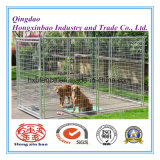 1.5X1.8m soldou cerco soldado galvanizado ao ar livre do animal de estimação do painel do fio o grande/canil do cão