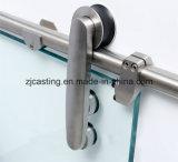 Kit de cristal del hardware de la puerta deslizante del estilo elegante (LS-SDG 604)