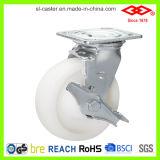 шарнирное соединение 200mm фиксируя колесо рицинуса полиамида (P701-30D200X50S)