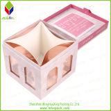 熱い販売の金ホイルの黒のパッキングギフトの香水ボックス