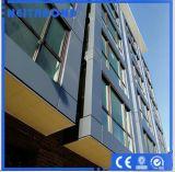 El panel compuesto de aluminio ACP, los paneles de paredes exteriores de las decoraciones del edificio