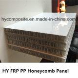 Tarjeta lisa resistente del panal de los PP de la fibra de vidrio del tiempo para la construcción de carrocería del carro