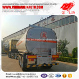 acoplado del petrolero del transporte del petróleo de cacahuete de la capacidad 40000L semi