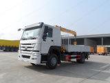 Camión con grúa, carro de la grúa, montada en camión grúa con unidad de potencia