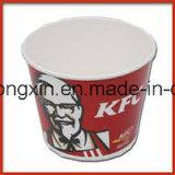Document van de Verpakking van het Voedsel Kfc van de Rang van het voedsel PE Met een laag bedekte